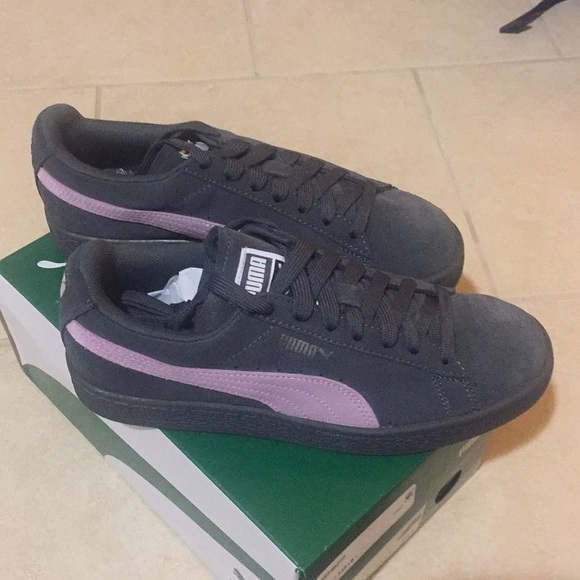 PUMA Suede Classic+ Iron Gate & Orchid zapatos